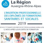 L'insertion professionnelle des diplômés de formations sanitaires et sociales 2019