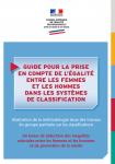 Guide pour la prise en compte de l'égalité entre les femmes et les hommes dans les systèmes de classification